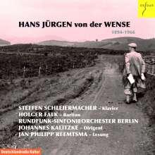 Hans Jürgen von der Wense (1894-1966): Werke, CD