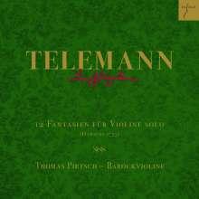 Georg Philipp Telemann (1681-1767): Fantasien für Violine Nr.1-12, CD