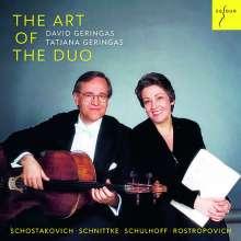 David Geringas & Tatjana Geringas - The Art of the Duo, CD