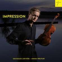 Sao Soulez Lariviere & Annika Treutler - Impression, CD
