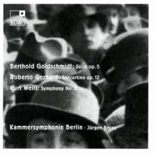 Berthold Goldschmidt (1903-1996): Orchestersuite op.5, CD