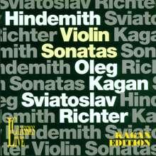 Paul Hindemith (1895-1963): 4 Sonaten für Violine & Klavier, CD