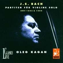 Johann Sebastian Bach (1685-1750): Partiten für Violine BWV 1002 & 1004, CD
