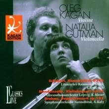 Oleg Kagan spielt Violinkonzerte, CD