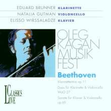 Ludwig van Beethoven (1770-1827): Klarinettentrio op.11, CD