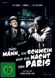 Zwei Mann, ein Schwein und die Nacht von Paris, DVD