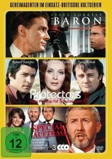 Geheimagenten im Einsatz - Britische Kultserien, 3 DVDs