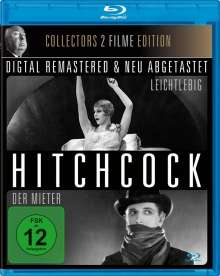 Alfred Hitchcock: Der Mieter / Leichtlebig (OmU) (Blu-ray), Blu-ray Disc