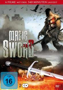 Magic Sword Box (6 Filme auf 2 DVDs), 2 DVDs