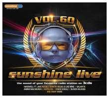 Sunshine Live 60, 3 CDs