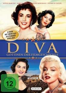 Diva - Göttinnen der Filmgeschichte (12 Filme auf 6 DVDs), 6 DVDs