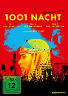 1001 Nacht Teil 1-3 (Sonderedition) (OmU), 3 DVDs