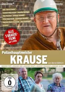 Polizeihauptmeister Krause (alle 5 Krause-Filme), 5 DVDs