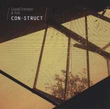 Conrad Schnitzler & Pole: Con-Struct, 1 LP und 1 CD