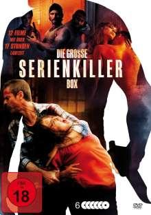 Die große Serienkiller-Box (12 Filme auf 6 DVDs), 6 DVDs