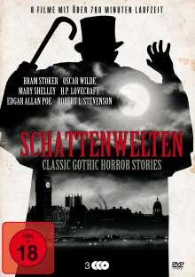 Schattenwelten - Classic Gothic Horror Stories (8 Filme auf 3 DVDs), 3 DVDs
