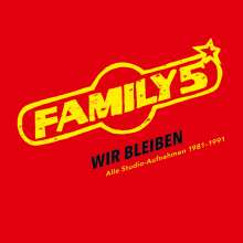 Family 5: Wir bleiben: Alle Studio-Aufnahmen 1981 - 1991 (Limited-Numbered-Edition), 5 CDs