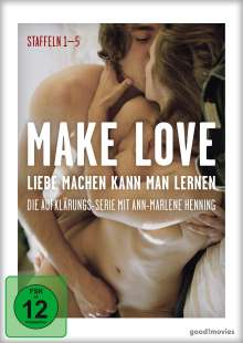 Make Love - Liebe machen kann man lernen Staffel 1-5, 6 DVDs