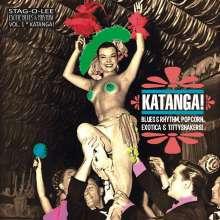 "Katanga! Exotic Blues & Rhythm (Limited-Edition) (Clear Vinyl), Single 10"""