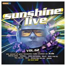 Sunshine Live Vol.62, 3 CDs