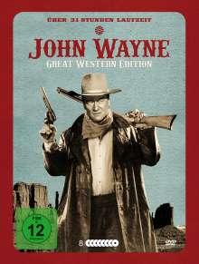 John Wayne - Great Western Edition (32 Filme auf 8 DVDs), 8 DVDs