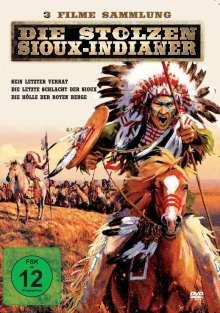 Die stolzen Sioux-Indianer (3 Filme in einer Box), DVD