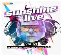 Sunshine Live Vol. 64, 3 CDs