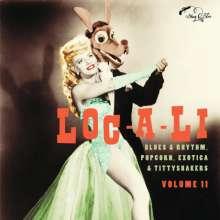 """Loc-A-Li: Exotic Blues & Rhythm-Vol.11 (Limited-Edition), Single 10"""""""