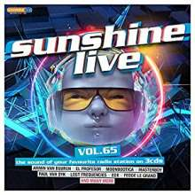 Sunshine Live Vol. 65, 3 CDs