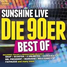 Sunshine Live: Die 90er Best Of, 2 CDs