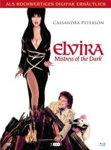 Elvira - Herrscherin der Dunkelheit (Blu-ray & DVD in Modularbook), 2 Blu-ray Discs und 1 DVD