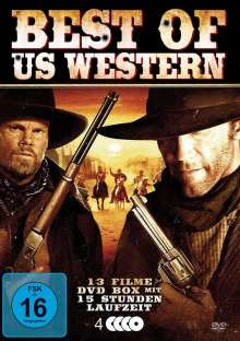Best of US-Western, 4 DVDs
