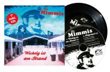 """Die Mimmis: Wichtig ist am Strand, 1 Single 7"""" und 1 CD"""