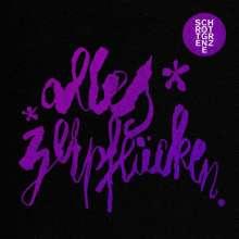 """Schrottgrenze: Alles zerpflücken (Limited Numbered Edition), 1 LP und 1 Single 12"""""""