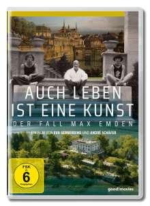 Auch Leben ist eine Kunst - Der Fall Max Emden, DVD