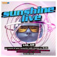 Sunshine Live 68, 3 CDs