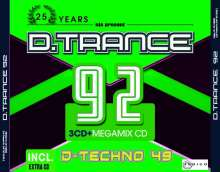 D.Trance 92 (incl. D-Techno 49), 4 CDs