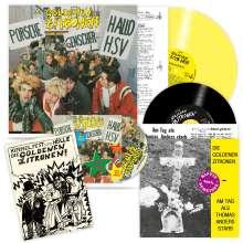 Die Goldenen Zitronen: Porsche Genscher Hallo HSV (remastered) (180g) (Limited-Edition) (Yellow Vinyl), LP