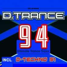 D.Trance 94 (incl.D-Techno 51), 4 CDs