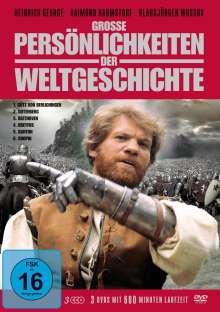Grosse Persönlichkeiten der Weltgeschichte, 3 DVDs