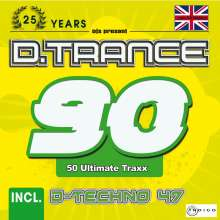 D.Trance 90 (incl. D-Techno 47 & UK-Makina), 5 CDs