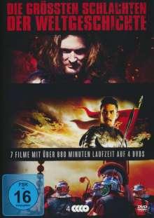Die grössten Schlachten der Weltgeschichte, 4 DVDs