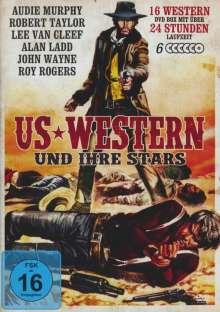 US Western und ihre Stars (16 Western auf 6 DVDs), 6 DVDs