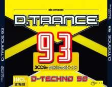 D.Trance 93 (incl. D-Techno 50), 4 CDs