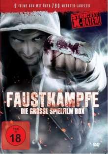 Faustkämpfe - Die Grosse Spielfim Box (9 Filme auf 3 DVDs), 3 DVDs