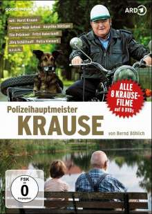 Polizeihauptmeister Krause (8 Filme), 8 DVDs