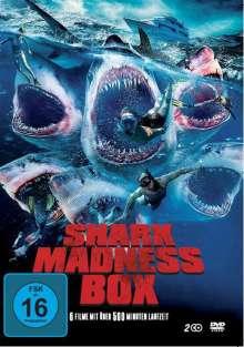 Shark Madness Box (6 Filme auf 2 DVDs), 2 DVDs