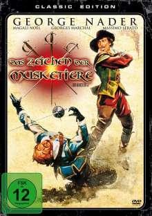 Das Zeichen der Musketiere, DVD