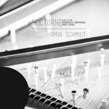 Irmin Schmidt (geb. 1937): NOCTURNE - Live At The Huddersfield Contemporary Music Festival (Limited Numbered Edition) (White Vinyl), 2 LPs