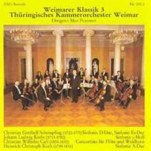 Christian Gotthelf Scheinpflug (1722-1770): Symphonien D-Dur & Es-Dur, CD